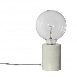 Stolní lampa Bristol bílá/mramor
