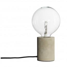 Stolní lampa Bristol, beton