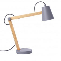 Play stolní lampa, bílá/jasan