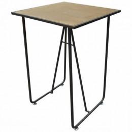 Barový stolek CHELSEA METAL NATUREL