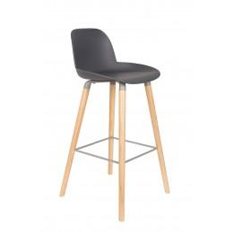 Barová židlička ALBERT KUIP, grey