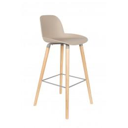 Barová židlička ALBERT KUIP, taupe