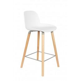 Barová stolička ALBERT KUIP 89 cm, white