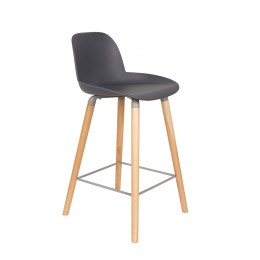 Barová stolička ALBERT KUIP, dark grey