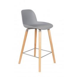 Barová židle ALBERT KUIP 89 cm, light grey
