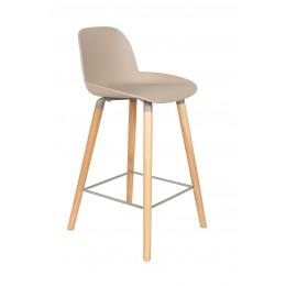 Barová židle ALBERT KUIP 89 cm, taupe
