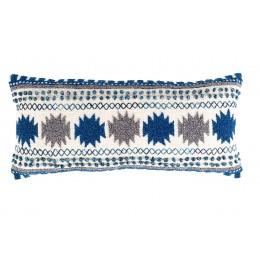 Designový polštář SALA, natural blue