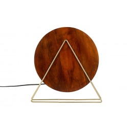 Stolní lampa LOUIS mango