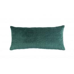 Dekorační polštář IRIS, dark green