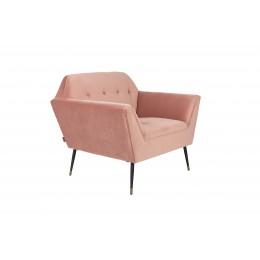 Křeslo LOUNGE KATE, pink