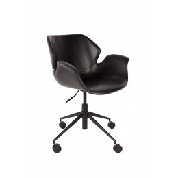 Kancelářská židle NIKKI ALL BLACK