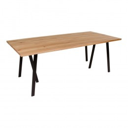 Jídelní stůl NANTES 220x95 cm, přírodní dub