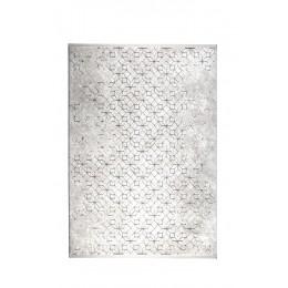 Koberec YENGA  ZUIVER 160x230 cm,světle šedá/černá