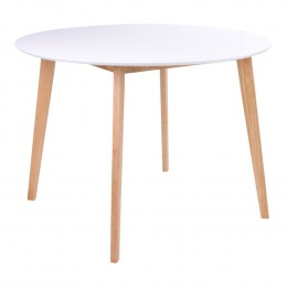 Jídelní stůl VOJENS 105x105 cm, přírodní podnož