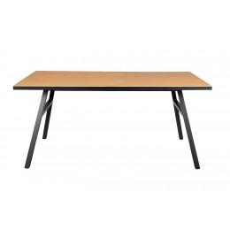 Jídelní stůl SETH ZUIVER 180x90, oak