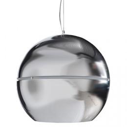 Závěsná lampa Retro Chrome, 50 cm