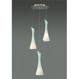 MANTRA ZACK závěsné svítidlo se třemi závěsy, celkový průměr 49 cm