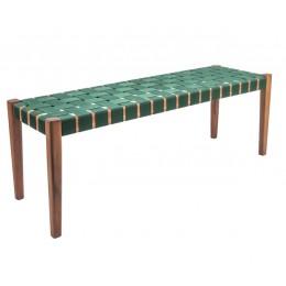 Zahradní lavice WEAVE, green