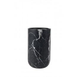 Váza FAJEN ZUIVER Marble black