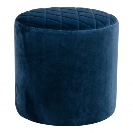 Taburet (puf) EJBY modrý