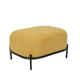 Taburet POLLY, yellow