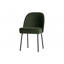 Křeslo,židle VOUGE,samet,tmavě modrá
