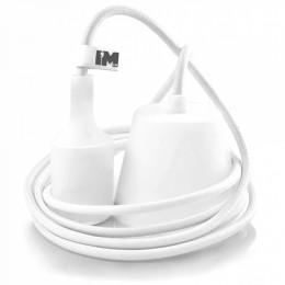 Silikon 1-závěsná žárovka bílá
