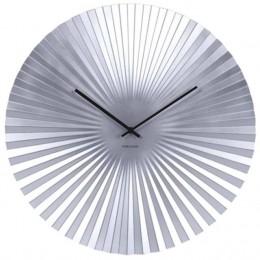 Hodiny SENSU stříbrné,40 cm