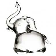 Slon skleněný 6 cm