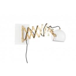 Nástěnná lampa SARANA, white