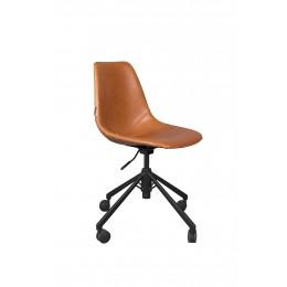 Kancelářská židle DUTCHBONE FRANKY, brown