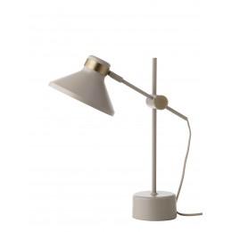 Stolní lampa MR Frandsen, holubí šeď