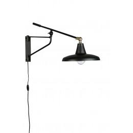 Nástěnná lampa DUTCHBONE HECTOR, black