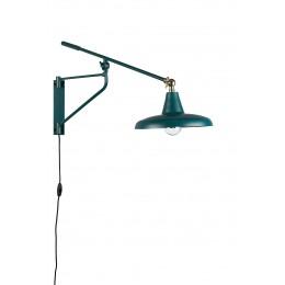 Nástěnná lampa DUTCHBONE HECTOR, teal