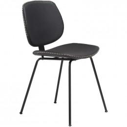 Židle DANFORM PRIME, eko kůže černá