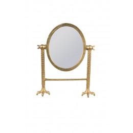 Zrcadlo stolní FALCON brass