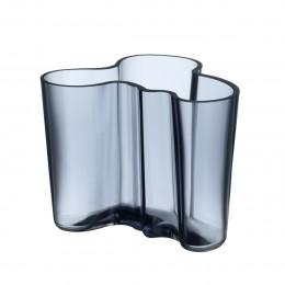 Váza Alvar Aalto Iittala 120 mm šedomodrá
