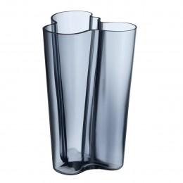 Váza Alvar Aalto Iittala 251 mm šedomodrá