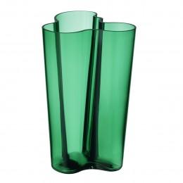 Váza Alvar Aalto Iittala 251 mm smaragdová