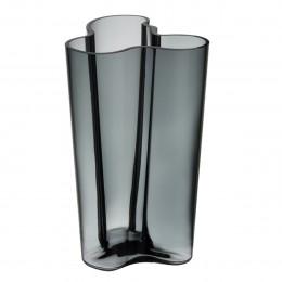 Váza Alvar Aalto Iittala 251 mm tmavě šedá