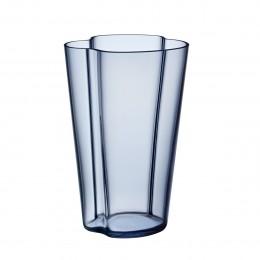 Váza Alvar Aalto 220mm šedomodrá