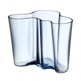 Váza Alvar Aalto Iittala 160 mm vodní modrá