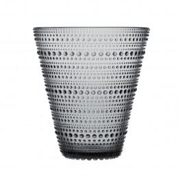 Váza Kastehelmi 154mm šedá