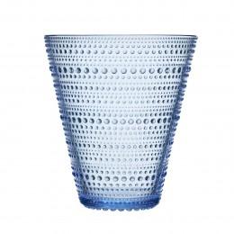 Váza Kastehelmi 154mm vodní modrá