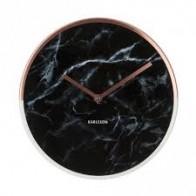 Hodiny marble copper, 30 cm