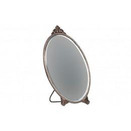 Zrcadlo stojací oválné POSH ,metal-antická mosaz