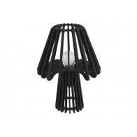 Stolní  lampa EDGY MUSHROOM, černá