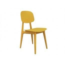Židle VINTAGE, žlutá