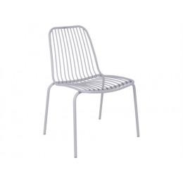 Venkovní židle LINEATE, šedá