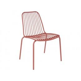Venkovní židle LINEATE, cihlová